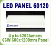 LED Panel Light 600mm x 1200mm